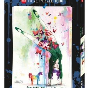 Puzzle Heye Unicorn Free Colours de 1000 piezas