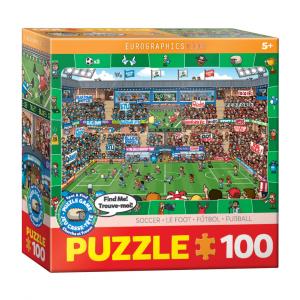 Puzzle niños Eurographics Fútbol de 100 piezas