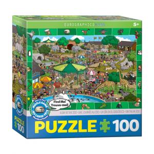 Puzzle niños EurographicsZoo 100 piezas