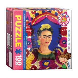 Puzzle niños EurographicsFrida Khalo de 100 piezas