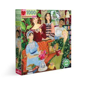 Puzzle eeBoo Jane Austin Club del Libro de 1000 piezas